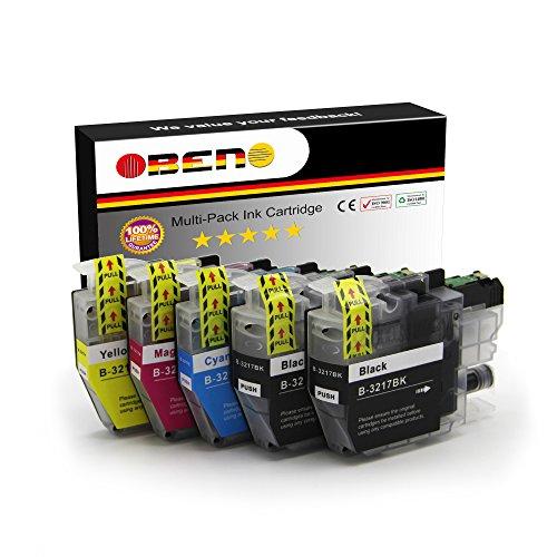OBENO - 1 Set 1 Bk - LC3217 LC3219 5 Pack Cartucho