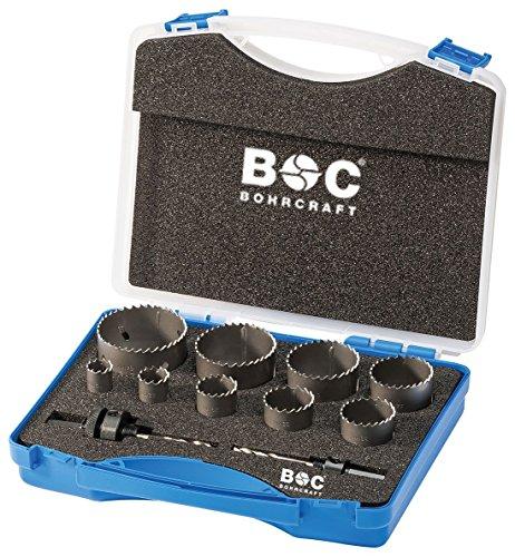 Craft HSS bilame Scie perçage dans coffret en plastique RLS 9, 11 pièces 19–64 mm avec adaptateur AS 11 et AS 33, 1 pièce, 19001330009