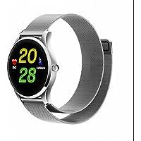 Herzfrequenz sportuhr Smartwatch Fitness Watch Schlafüberwachung Push Benachrichtigung Kalorienzähler dimmbar Fitness Tracker Sport uhr Herzfrequenz und Fitnessaufzeichnung für samsung/sony/apple