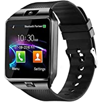 Faawn Smart Watches with Sim Card 4G Supported, Health Fitness Tracker Smart Watches for Mens Boys and Girls (smartwatch) - Black