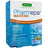 L'huile de poisson oméga-3 Pharmepa MAINTAIN, forte dose de 1000mg d'oméga-3 EPA & DHA par prise, huile de poisson...
