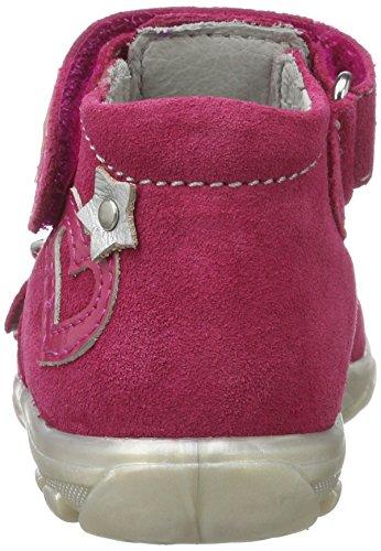 Richter Kinderschuhe Terrino, Chaussures Marche Bébé Fille Pink (fuchsia/pink/silver)