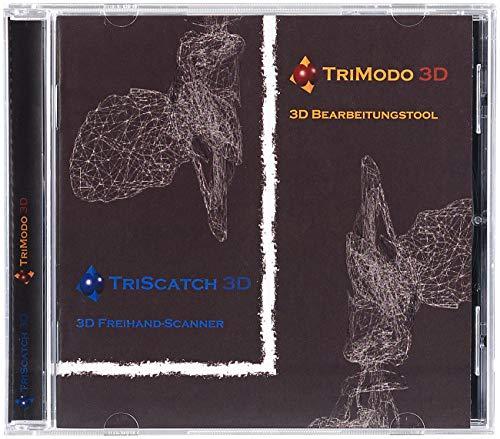 Trimodo 3D-Bearbeitungs- und Scanner-Software