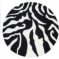 Edge To Teppiche Und Decken Schwarz Weiß Streifen Teppich Für Schlafzimmer  Wohnzimmer Studie