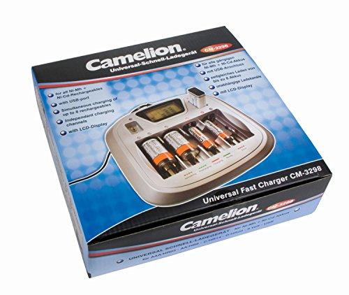Camelion CM-3298 Chargeur Rapide Universel