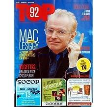 TOP [No 20] du 17/10/2011 - MAC LESGGY - J'ADORE LES CONSTRUCTIONS EN BOIS - RECETTES / UN AMOUR DE CHOU-FLEUR - HI-TECH / LES AS DE L'EXPRESSO - BOULOGNE / A VOIR ET A FAIRE PRES DE CHEZ VOUS