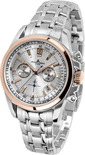 34d8c28820ff Jacques Lemans Liverpool – Reloj de pulsera analógico de cuarzo Acero  inoxidable 1 – 1117.1zn