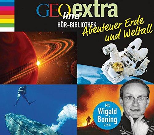 GEOlino extra Hör-Bibliothek - Abenteuer Erde und Weltall: Die Box: Abenteuer Erde, Die geheimnisvolle Welt der Ozeane, Das Universum, Sterne und ... GEOlino Hör-Bibliothek - Themenboxen, Band 1) -