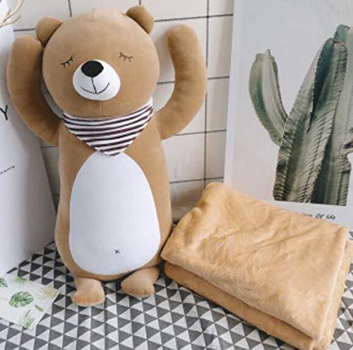 SUYUN Plüschpuppe DREI-in-eins leicht zu reinigen Mittagspause Decke Mittagspause Kissen 65cm (Donut-sitzkissen, Decken)