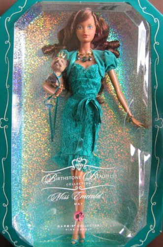 Barbie Collection Birthstone Beauties African American - Emerald May - L7576 by Barbie -