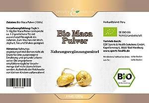 Maca Pulver Bio 1kg - 1000g Maca Pulver Premium Qualität