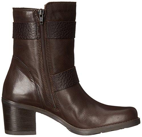 Clarks Fernwood Lake Moto avvio Dark Brown Leather