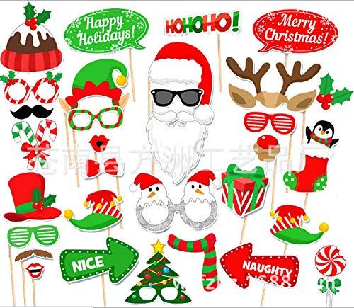 50x Foto Requisiten Verkleidung Photo Booth Fur Hochzeit Weihnachten