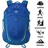 AI ONE 30L Outdoor Sports Camping Hiking Waterproof Backpack Rucksack Mountaineering Bag for Traveling Trekking with Rain Cover