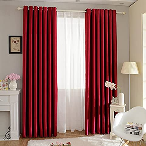 Thermal Insulated Blackout Curtains, C'est Super Soft Solid Blackout Curtains