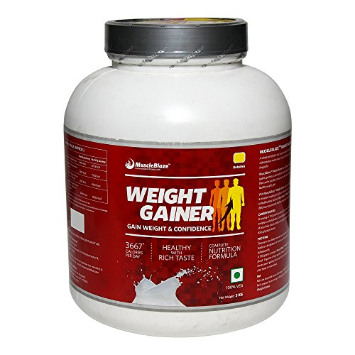 MuscleBlaze Weight Gainer , Banana   3 kg / 6.6 lbs