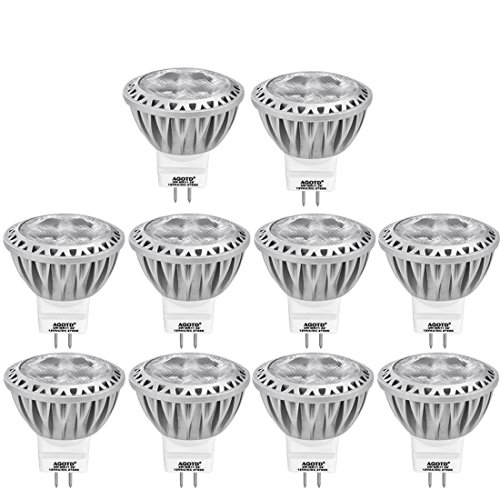 Led GU4 Lampen, 3 Watt, 12 Volt,  10er Pack