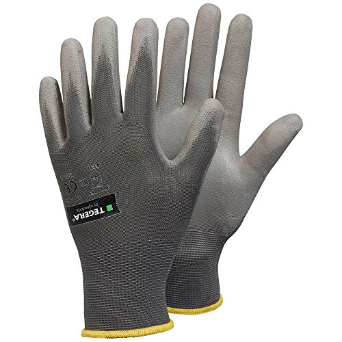 High Top Textil Guantes, Color Blanco, Talla 37