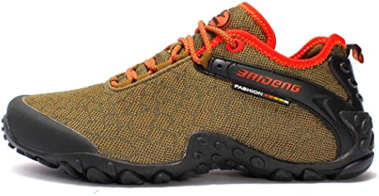 SANANG - Zapatillas de escalada de malla para hombre