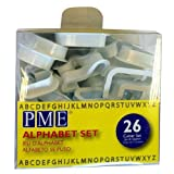 This plastic PME Alphabet set can be used to add sugar decoration to birthday cakes. Add your child's name to their birthday cake for a personal touch at a kids party. 26 piece Approximately 50mm high.
