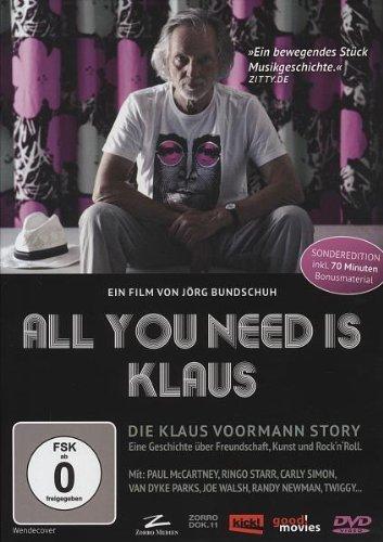 All You Need Is Klaus ( Die Klaus Voormann Story - Eine Geschichte über Freundschaft, Kunst und Rock 'n' Roll )