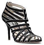 Michael Kors Tatianna Platform Womens Suede Platforms Heels, Black, Size 6.5