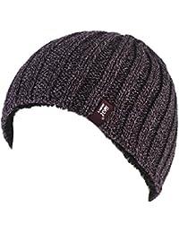 1 Mens GENUINE Heat Holder Heatweaver Thermal Winter Warm HAT TOG 3.4 Burgundy