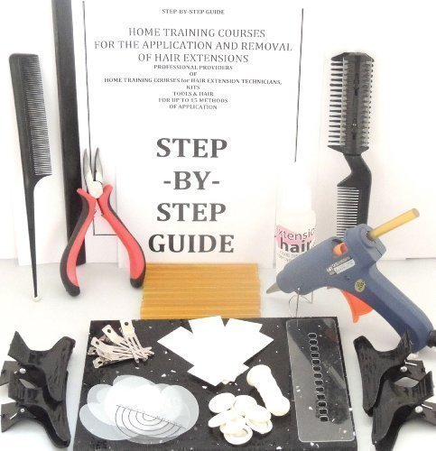 Hair Extensions - Pistolet à Colle Chaude Fusion Guide Etape par Etape