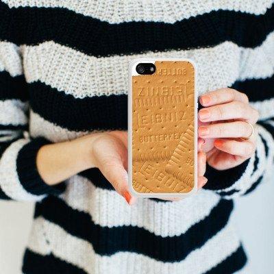 Apple iPhone 3Gs Housse étui coque protection Leibniz Petit-beurre Biscuit Housse en silicone blanc