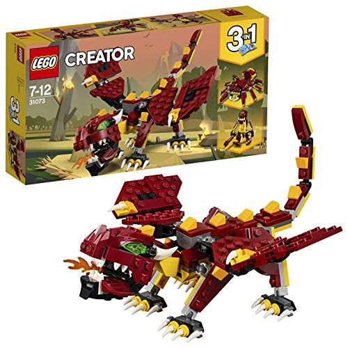 LEGO Creator 3in1 Mythical Creatures Building Blocks for Kids 7 to 12 Years (223 Pcs) 31073 (Multi Color)