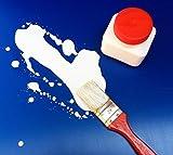 Flüssiglatex 1 Liter Latexmilch, naturfarben, Naturgummi flüssig, Latex, Gummimilch, Sockenstopp, Halloween, Masken, Wunden, Narben