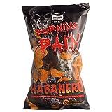Burning Pain ® Habanero Kartoffelchips von Puszta Peppers ® 2er Pack (2 x 80g Tüte) - extrem scharf - extrem knusprig - extrem lecker - Xtra hot Chips - 200.000 Scoville
