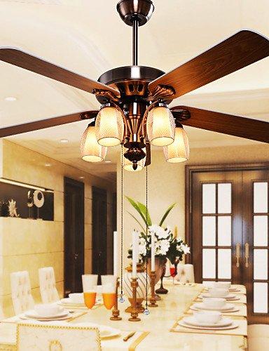 ssby-max60w-contemporain-designers-autres-mtal-ventilateurs-de-plafond-avec-lampesalle-de-sjour-cham