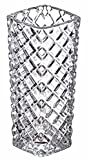 PRAX Decorative Small size Thick Flower Crystal Touch Vase Height 16 cm