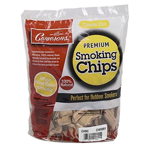 Camerons Rauchen Holz-Chips, grob ofengetrockneten BBQ Chips- 100% alle natürlichen Barbecue Smoker shavings- schwefelfrei Tasche (Bbq Smoker Holz-chips)