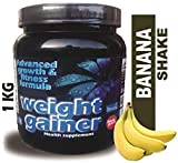 DEVELO WEIGHT GAINER WITH RAPID CARBS [BANANA SHAKE] 1KG