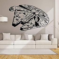 Vaisseau spatial Star Wars Star Wars sculpté stickers muraux salon autocollants décoratifs chambre à coucher