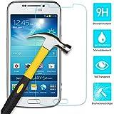 EKTROX Panzerglas Samsung Galaxy S4 / Schutzglas aus gehärtetem Glas, Stärke 9H