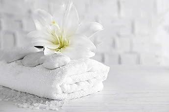 Cloth Fusion Pima Pure Cotton 550 GSM White Bath Towel