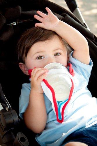 freehand-bib-baby-bottle-holder-hands-free-baby-feeding-british-invented-blue-white-stripe