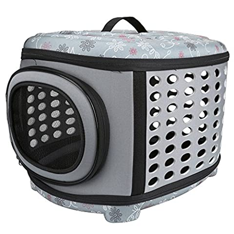 Mogoko Collapsible Pet Carrier Pet House with Hard Cover -