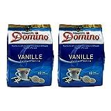 2x DOMINO Kaffeepads Vanille (á 18 Pads)