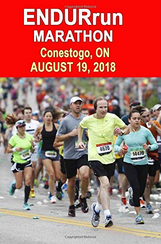 ENDURrun Marathon: Runners Training Journal, Composition Notebook Diary, College Ruled, 150 pages por ENDURrun Marathon