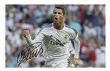 Cristiano Ronaldo - Real Madrid Signiert Autogramme 21cm x 29.7cm Plakat Foto