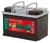 Kerbl Premium AGM batteria, 12 V, 88 Ah