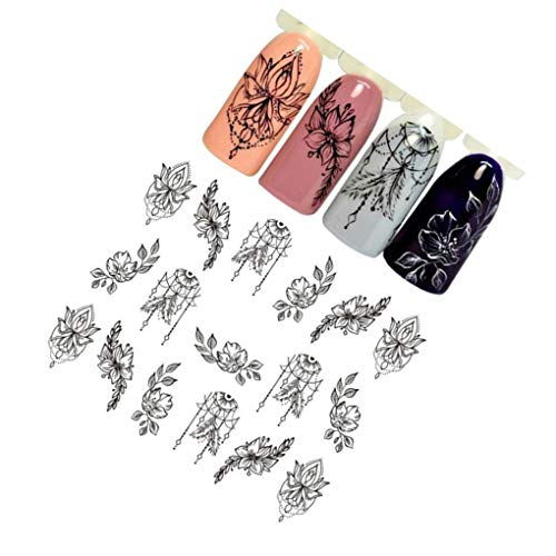 Beauty & Health Motivated 1set Nail Sticker Flower Water Splice Image Plate Nail Art Design Stamping Kits Manicure Template Nail Art Design Decoration Handsome Appearance