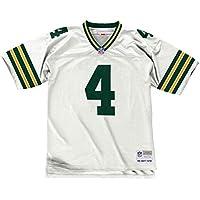 Mitchell & Ness Brett Favre Green Bay Packers Replica Throwback NFL Trikot Weiß