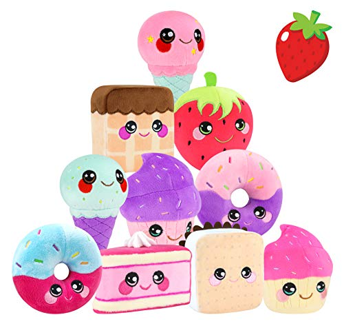Squeezamals BH31851.4300 Slow Rising Soft Toy, Squishie, Squeezy and Scented Desert Characters (Variety Styles Picked at Random), Multi