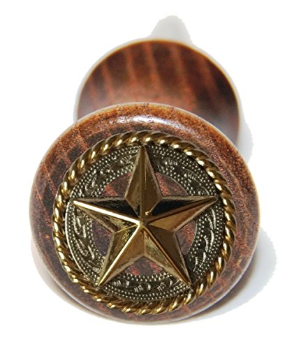 Custom Gold Star Wein Flasche - Toppers Boot Western