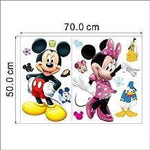 Mickey y Minnie Mouse adhesivo de pared